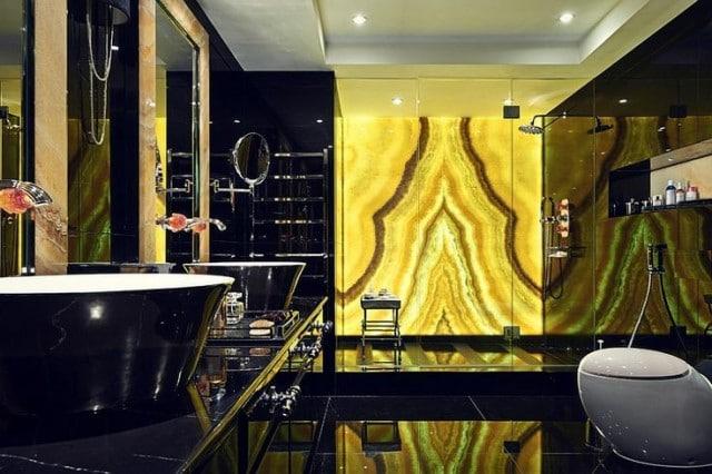 using natural stone for interior design